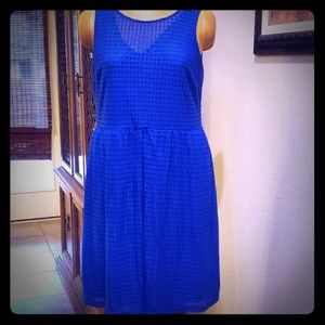 APT 9 Royal blue beautiful dress